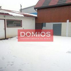 Prenájom výrob. priestorov (80,76 m2, pozemok 183,84 m2, parking, Z1)