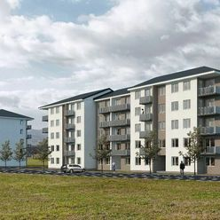 2izbový nový byt v Kunerade - balkón, výťah, novostavba
