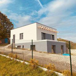 Predám nový RD v obci Ďurďošík, úžitková plocha 160 m2, pozemok 504 m2, stav holodom.