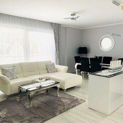 PREDAJ - Luxusný  zariadený  2-izbový byt, 80 m2, Gabčíkovo,novostavba