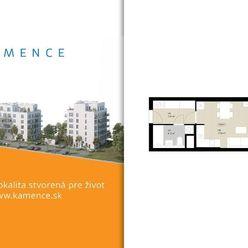 Byt 1+kk s balkónom - NOVOSTAVBA (D6.5)