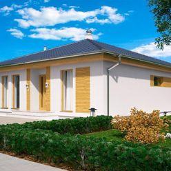 Nízkoenergetický  4-izb. bungalov  na 6,4 á pozemku, Most pri Bratislave