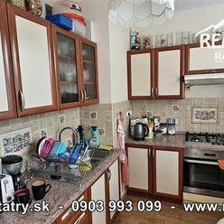 Byt 3 izbový 65 m2 + 4 m2 loggia v Poprade, ul. L. Svobodu blízko centra - ODPORÚČAME !!!