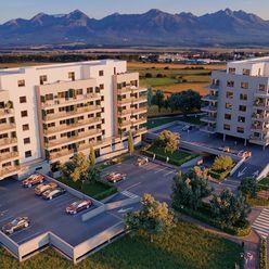 2 izbový byt so zariadením v cene, 6. nadzemné podlažie (6G)
