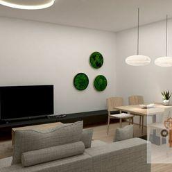 3 - izbový byt, Klimkovičová, tehlová novostavba