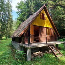 Chata v krásnej tichej lokalite