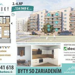ZARIADENÝ 2-izbový byt s balkónom M6G na 6. podlaží, BYTOVÝ DOM MERŤUKY