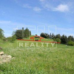 Stavebný pozemok,len 14 km od Prešova, Lipníky, 2542 m2