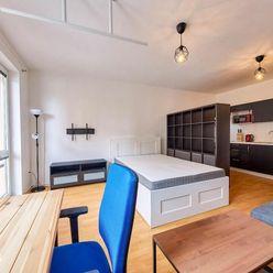 Prenájom 1 izb. bytu s balkónom, Vyšehradská ul. Petržalka