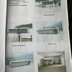 Predáme murovaný sklad s nakladacou rampou na začiatku obce Hrachovište.