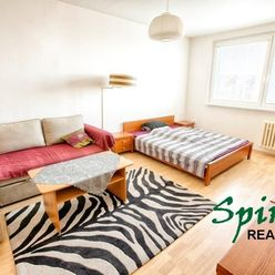 Na PREDAJ praktický 1 izb. byt v lokalite plnej zelene - v Dúbravke