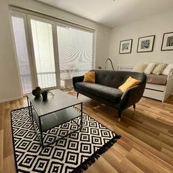 EŠTE NEOBÝVANÝ veľkorysý 1i byt, projekt Jarabinky, Ružinov - NIVY