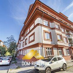 DOM-REALÍT ponúka noblesný 3 izbový byt s vysokými stropmi na ulici Ukrajinská