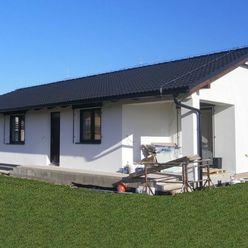 Novostavba: Priestranný rodinný dom, Košťany nad Turcom.
