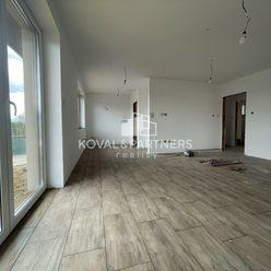 Novostavba tehlový 4 izbový bungalov v prevedení štandard, Malý Lapáš