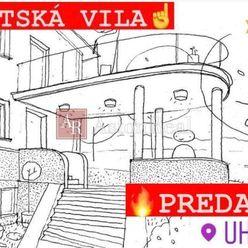 PREDANÉ!! MESTSKÁ VILA - Uhlisko, 200 m2 obytná plocha, 800 m2 pozemok