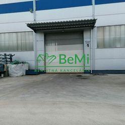 Na prenájom hala (skladová, výrobná) 1500 m2 Vlkanová