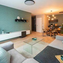 Predaj nového kompletne zariadeného 3i bytu, Kolísky, ihneď k nasťahovaniu