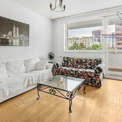 P R E N Á J O M  3-izbový byt s neprechodnými izbami Bajzová Ružinov