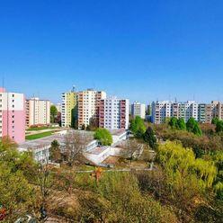 3i. byt 74m, loggia 6m, Palkovičova ul., lokalita NIVY, KLÍMA, CENA VRÁTANE ENERGIÍ a internetu, TOP