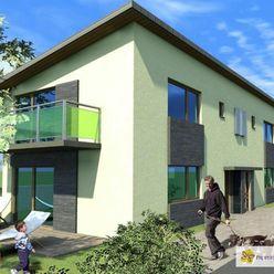 NOVOSTAVBA NA PREDAJ mezonetový 3 i alternatívne 4  i byt, balkón, terasa, záhrada, 2 x parkovanie