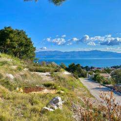 Ostrov Brač - Nádherný stavebný pozemok na predaj 511 m2