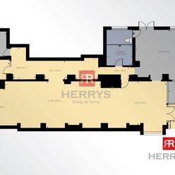 HERRYS - Na predaj obchodné priestory o výmere 245 m2 v Starom Meste s virtuálnou 3D obhliadkou