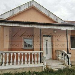 Dražba rodinného domu v Semerove, okres Nové Zámky