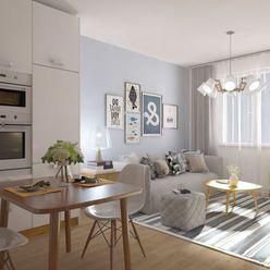 1i byt v novostavbe Zelené Vlčince C.507