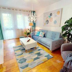 3 izbový byt v Dúbravke s výhľadom ako v lese