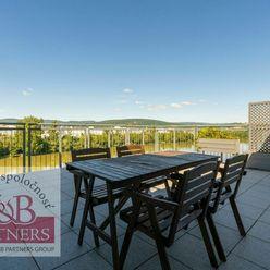 Ponúkame Vám na prenájom nádherný priestranný zariadený 4i byt s 2 terasami a vyhradeným gar. státím