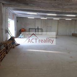 Na prenájom skladový priestor / hospodárska budova, 400 m2, Ves Touškov