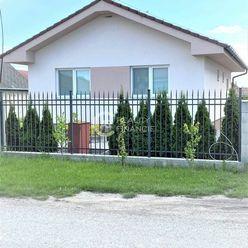 AG reality I Rezervované  -  novostavba 3 -izbového domu s veľkým pozemkom  - Horná Potôň
