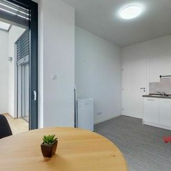 Na prenájom 1 izbový byt v novostavbe s terasou blízko centra mesta, Zvolen