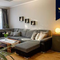 IRG  REZERVOVANÉ  Priestranný a slnečný 4-izbový byt Rohožník
