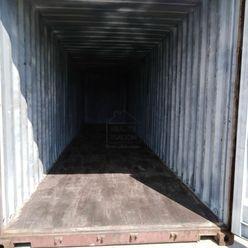 Na prenájom lodný kontajner 40'' HC, rozmer 12 x 2,5 x 2,7 m.
