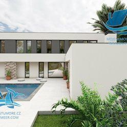 Nová moderní vila s bazénem v Zatonu