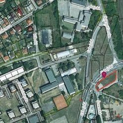 Prenájom pozemok 1236 m2  Nitra