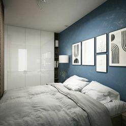 NOVÉ ZLATOVCE - B3.5 / 1-izbový byt, 38m2, balkón, 3. poschodie/4., NOVOSTAVBA