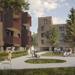 Vila byty 2-izbový byt