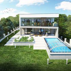 Novostavba - rodinná vila v centre mesta Levice s krásnym výhľadom na mesto!