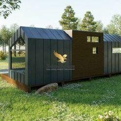 Exkluzívne!! Luxusný modulárny domček Fugazzi na celoročné bývanie