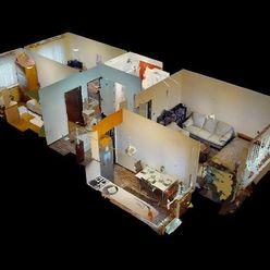 Predaj 3 ib (64 m2) na ulici Magurská, sídlisko Sásová (3D obhliadka)