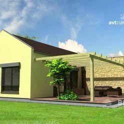 DREVODOM - NÍZKOENERGETICKÝ 4 izbový, 130 m2, okr. Dolný Kubín