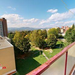 Na predaj 1-izbový byt v Trenčíne, ulica Západná, sídlisko Juh.