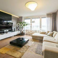 Nadštandardný 3i byt, 80 m2, najvyššie poschodie, 25 m2 lodžia, RETRO
