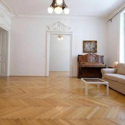 Unikátny 4izb. byt 120m2, Sládkovičova ul., centrum, 2x kúpeľňa, šatník, 1/3p., diplomatická štvrť,