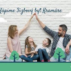 Hľadáme 3-4 izbový byt na Kramároch pre mladú rodinu