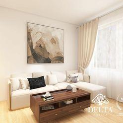 DELTA | Zariadený 2 izbový byt, Rezedová ul., Ružinov, 55 m2