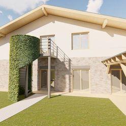 Obytný dom s tromi bytovými jednotkami, veľký pozemok 6.500 m2.